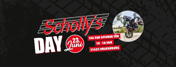 Motorradnews Scholly´s Day - Megaevent in Drakenburg