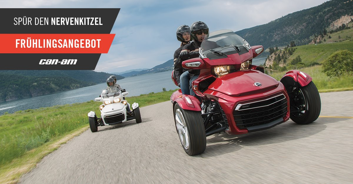 Motorradnews Can-Am On-Road Days bei Scholly´s