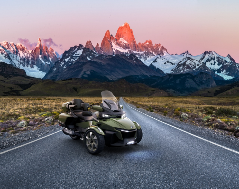 Can-Am Spyder RT Sea-to-Sky-Version