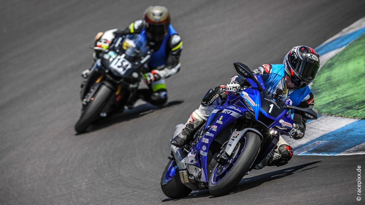 Yamaha Track Days 2021 – Dein Rennstrecken-Event ganz in Blau!